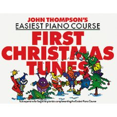 EASIEST PIANO COURSE FIRST CHRISTMAS TUNES