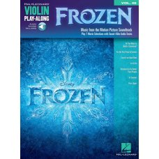 FROZEN MUSIC FROM THE SOUNDTRACK   VIOLIN BK+AUDIO ACCESS