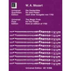 MOZART THE MAGIC FLUTE FOR TWO FLUTES