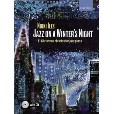 JAZZ ON A WINTERS NIGHT PIANO BK+CD