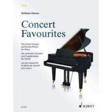 CONCERT FAVOURITES FOR PIANO