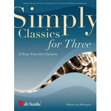 SIMPLY CLASSICS FOR THREE CLARINETS
