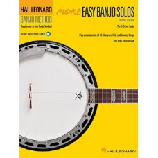 HAL LEONARD BANJO METHOD MORE EASY SOLOS