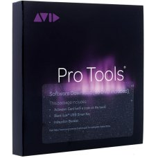 Äänitysohjelma AVID Pro Tools with 12 Months Upgrades and Support  -Student / Teacher (Activation Card + iLok2)