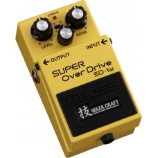Särkijä BOSS SD-1 W Overdrive Waza Craft