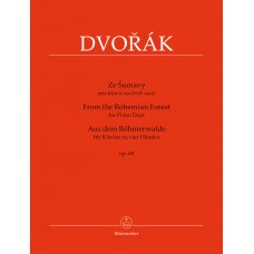 DVORAK FROM THE BOHEMIAN FOREST FOR PIANO  DUET OP.68