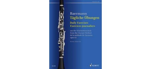 BAERMANN DAILY EXERCISES OP.63 FOR CLARINET
