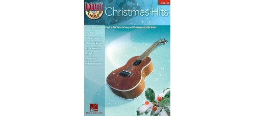 CHRISTMAS HITS FOR UKULELE BK/CD