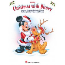 CHRISTMAS WITH DISNEY UKULELE BK