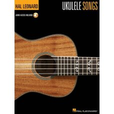 HAL LEONARD UKULELE SONGS BK/AUDIO