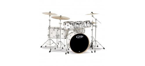 Rumpusetti  PDP Concept Maple CM 7, Shell Pack Pearlecent White