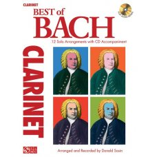 BEST OF BACH CLARINET BK+CD