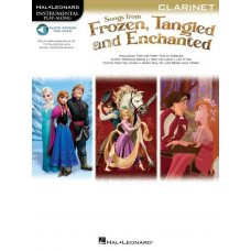 FROZEN TANGLED ENCHANTED CLARINET BK+AUDIO ACCESS