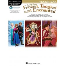 FROZEN TANGLED ENCHANTED T-SAX BK+AUDIO ACCESS
