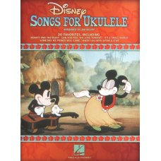 DISNEY SONGS FOR UKULELE BK