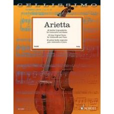 ARIETTA 40 EASY ORIGINAL PIECES VIOLINCELLO & PIANO