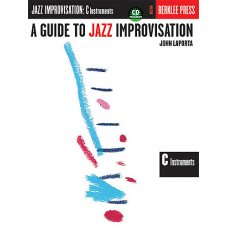 GUIDE TO JAZZ IMPROVISATION C INTRUMENTS BK+CD (LAPORTA)