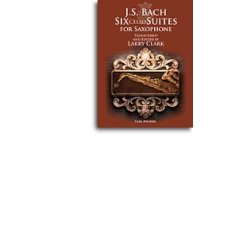BACH 6 CELLO SUITES FOR A-SAX BK