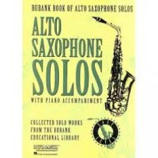 ALTO SAXOPHONE SOLOS WITH PIANO ACC.