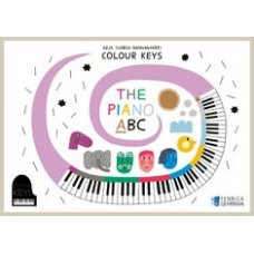COLOUR KEYS PIANO ABC A-OSA