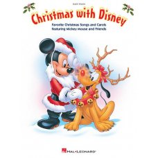 CHRISTMAS WITH DISNEY EASY PIANO BK