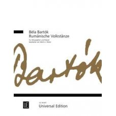 BARTOK ROMANIAN FOLK DANCES FOR A-SAX & PIANO
