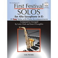 FIRST FESTIVAL SOLOS FOR ALTO SAXOPHONE & PIANO/CD