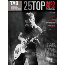 25 TOP HARD ROCK SONGS  TAB+