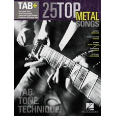 25 TOP METAL SONGS  TAB+