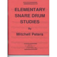 Elementary Snare Drum Studies, Mitchell Peters