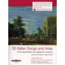 30 Italian Songs and Arias, medium-high voice