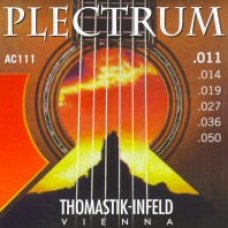 Akustisen kitaran kielisarja 011-050 Thomastik Plectrum Light