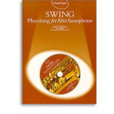 Guest Spot Swing Playalong for Alto Saxophone