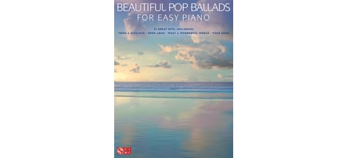 Beautiful Pop Ballads For Easy Piano