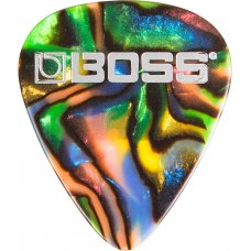 Plektra pussi Boss Celluloid Abalone Thin 12kpl