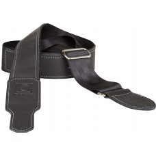 "Kitarahihna BOSS 2"" Black Seatbelt / Black Leather"