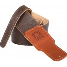 "Kitarahihna BOSS 2,5"" Brown Premium Leather"