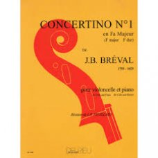Breval, J.B: Concertino 1 for violoncello