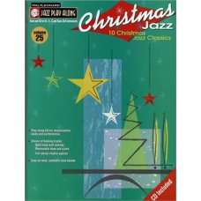 CHRISTMAS JAZZ+CD PLAY ALONG+CD VOL.25