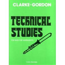 CLARKE - GORDON: TECHNICAL STUDIES FOR BASS CLEF INSTRUMENTS