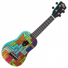 "Beatles Ukulele The Cavern Club ""The Wall"""