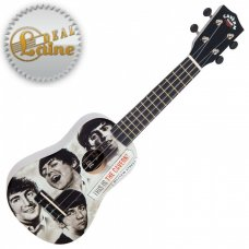 "Beatles Ukulele The Cavern Club ""Fab Faces"""