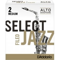 Alttosaksofonin lehti nro 2M FILED Rico Jazz Select 10kpl aski