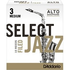 Alttosaksofonin lehti nro 3M FILED Jazz Select 10kpl aski
