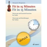 FIT IN 15 MINUTES VIOLIN WARM-UPS & ESSENTIAL EXERCISES