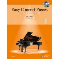 EASY CONCERT PIECES 1 FOR PIANO BK+CD