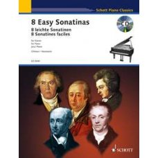 8 Easy Sonatinas for Piano
