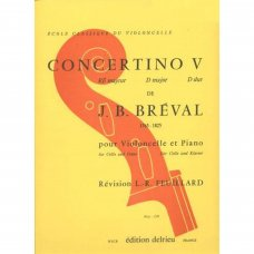 Breval, J.B: Concertino 5 for violoncello