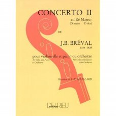 Breval, J.B: Concertino 2 for violoncello