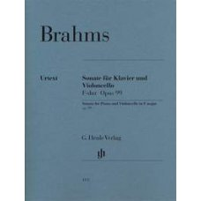 BRAHMS: VIOLONCELLO SONATA IN F MAJOR OP.99